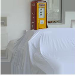 Präsentations Fahrzeug-Abdeckung