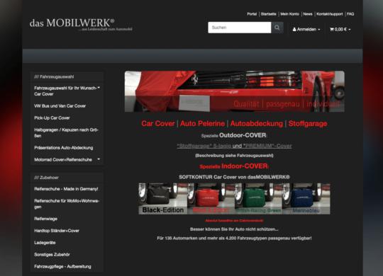 online shop das mobilwerk